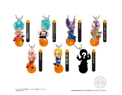 Imagen de **OFERTA** Llaveros Dragon Ball QD Mascot Figure Vol 2 Box of 10 Piezas.