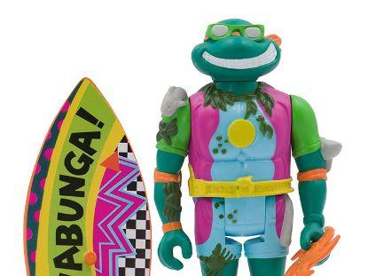 Imagen de ReAction Figure - Teenage Mutant Ninja Turtles TMNT Wave3: Sewer Surfer Michelangelo