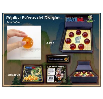 Imagen de Dragon Ball Set Coleccionable 7 Esferas Del Dragón